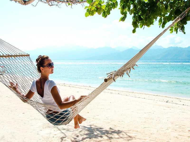 Badeurlaub auf Bali