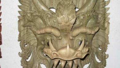 Balinesische Holzmaske