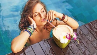 Getränk auf Bali