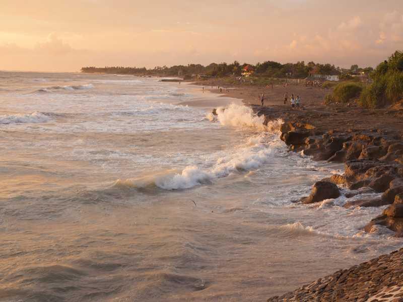 Strand im Westen von Bali