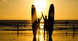 Wassersport auf Bali