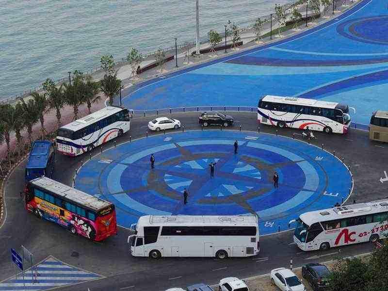 Bali mit dem Bus