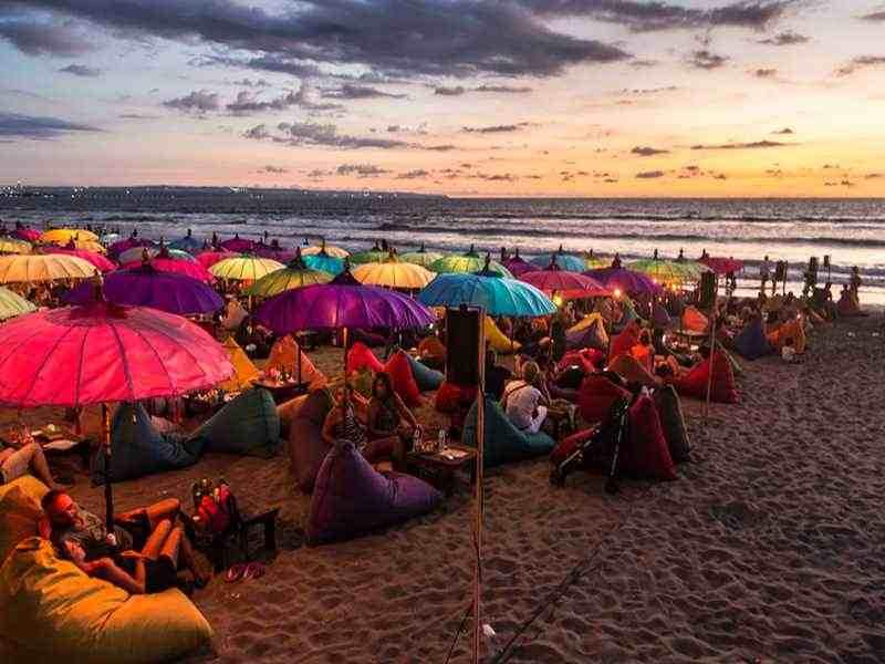 Nachtleben auf Bali