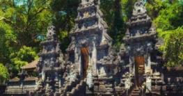 Pura Goah Lawah auf Bali